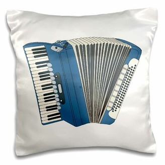 Zoomie Kids Escobar Accordian Music Musical instrument Design Pillow Cover