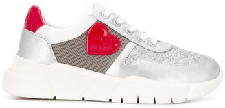 Love Moschino Heart Patch Low Top Sneakers