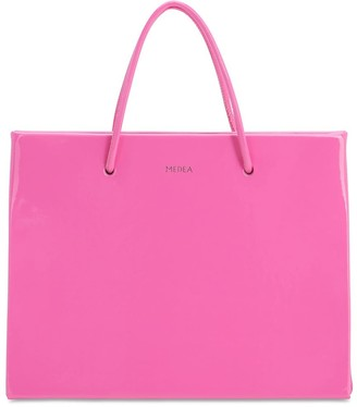 Medea Hanna Vinyl Top Handle Bag