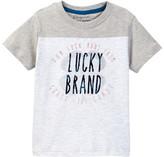 Lucky Brand Coastal Luck Clover Tee (Toddler Boys)