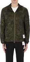 Satisfy Men's Packable Camouflage Hooded Windbreaker