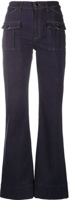 Dorothee Schumacher High-Waisted Flared Jeans