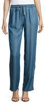 Michael Kors Chambray Drawstring Pants