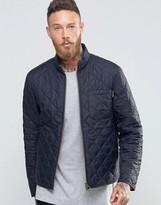 Barbour Jacket Axle Quilt In Navy