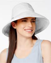 Scala Cotton Canvas Bow Kettle Hat