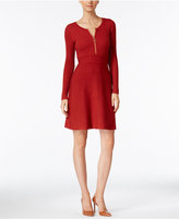 INC International Concepts Petite Fit & Flare Sweater Dress, Only at Macy's