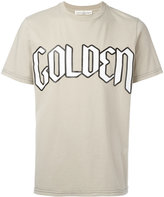 Golden Goose Deluxe Brand typography branded T-shirt - men - Cotton - M
