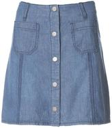 Sanctuary Blue Jean Skirt