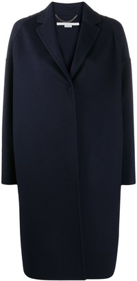 Stella McCartney Concealed Front Fastening Coat