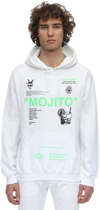 Taboo All Over Print Cotton Sweatshirt Hoodie