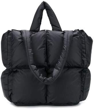 Off-White Off White puffy tote bag black
