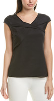 Lafayette 148 New York Hilda Silk-Blend Top