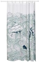 Now Designs Danica Studio Cotton Shower Curtain, Odyssey Print