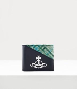Vivienne Westwood Aran Cards Wallet Black/Green Tartan