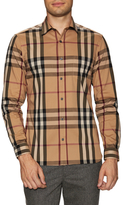 Burberry Checkered Sportshirt