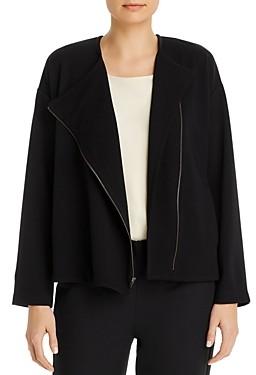 Eileen Fisher Round Neck Jacket