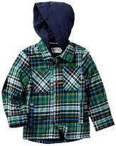 Sovereign Code Cruncher Flannel with Hood (Baby Boys)