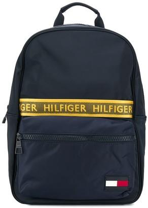 Tommy Hilfiger logo tape backpack