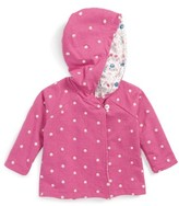 Hatley Infant Girl's Embroidered Hoodie