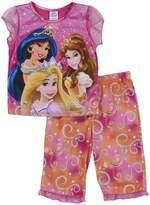 Disney Princesses Belle, Rapunzel and Jasmine Pajamas for girls