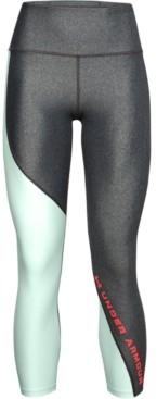 Under Armour Women's HeatGear Colorblocked Compression Leggings
