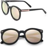 Karen Walker Super Duper Superstars 53MM Round Sunglasses