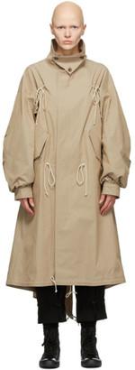 Regulation Yohji Yamamoto Tan BGG Mods Coat