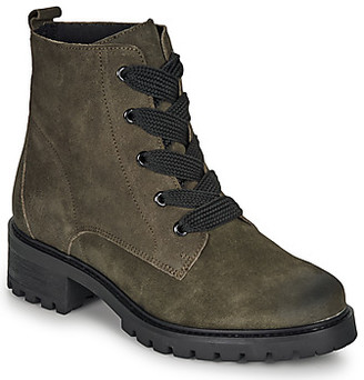 Andre ELISE women's Mid Boots in Green