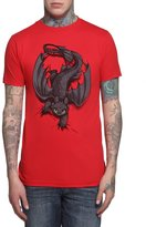 Mighty Fine How To Train Your Dragon Men's Night Fury X-ing T-Shirt Tee