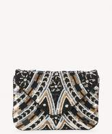 Sole Society Luise Glitzy Beaded Clutch
