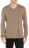 James Perse Men's Suvin V-Neck Sweatshirt