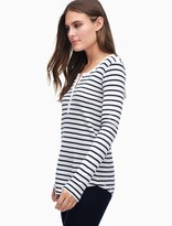 Splendid Striped Henley Thermal