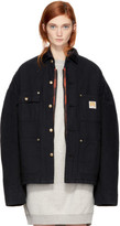 R 13 Black Workman Jacket