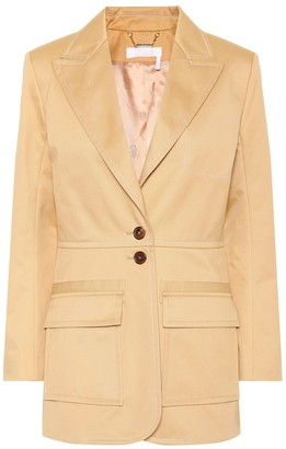 Chloé Cotton blazer
