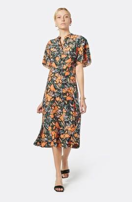 Joie Joan Silk Midi Dress