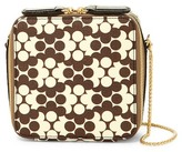 Orla Kiely Mini Leather Poppy Bag