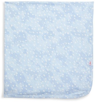 Magnetic Me Baby Boy's Doeskin Brushed Polka Dot Swaddle