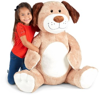 Melissa & Doug Gentle Jumbos Dog Giant Stuffed Plush Animal