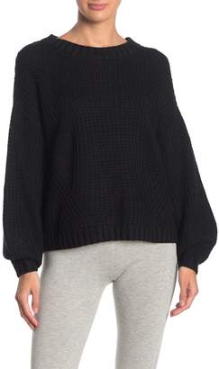 Splendid Cable Knit Pullover Sweater