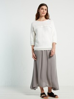White Stuff Brush stroke maxi skirt