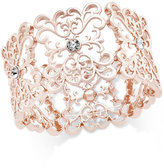 INC International Concepts Crystal Filigree Stretch Bracelet, Only at Macy's