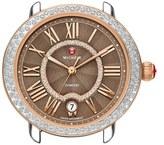 Michele Women's 'Serein 16' Diamond Watch Case, 34Mm X 36Mm