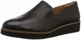 SoftWalk Women's Whistle Black Loafer 8.5 N