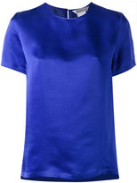 Max Mara crew neck top - women - Silk - 44