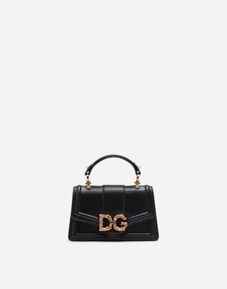 Dolce & Gabbana Amore Mini Bag In Smooth Calfskin