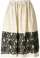 Comme des Garcons lace panel skirt