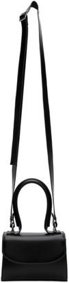 Junya Watanabe Black Leather Small Top Handle Bag