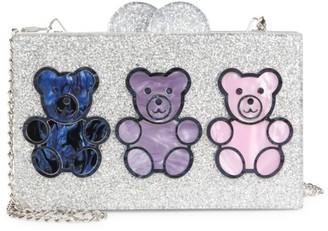 Bari Lynn Gummy Bear Glitter Clutch