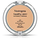 Neutrogena Healthy Skin Compact Makeup Foundation, Broad Spectrum Spf 55, Nude 40, .35 Oz.