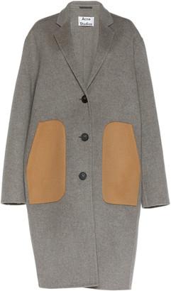 Acne Studios Oluma Oversized Wool-Blend Coat
